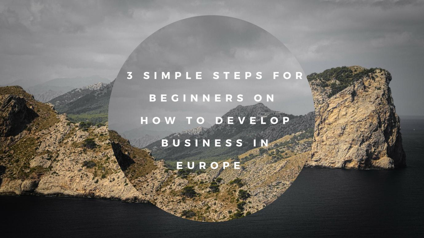 3 Simple Steps for Beginners On How To Develop Business In Europe